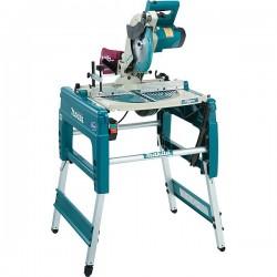 Scie sur table et à coupe d'onglet 1650 W Ø 260 mm