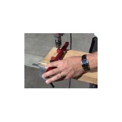Guide de percage pour lamees de terrasses