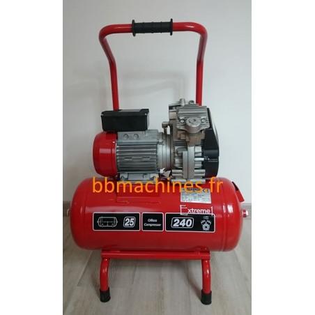 Compresseur électrique 25L - 1,5 CV