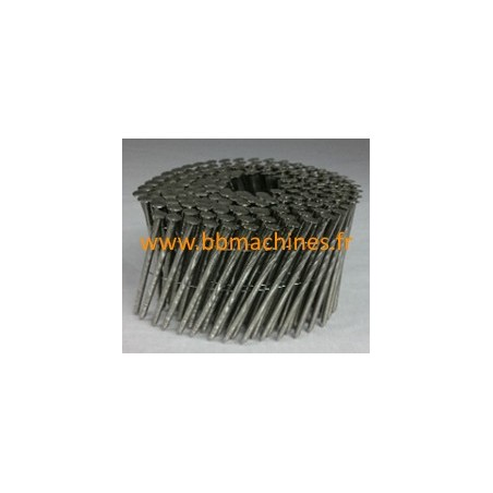 Pointes en rouleaux plats 16° diamètre 2,3 mm