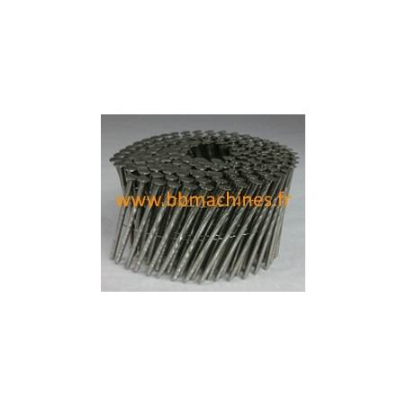 Pointes en rouleaux plats 16° diamètre 2,5 mm