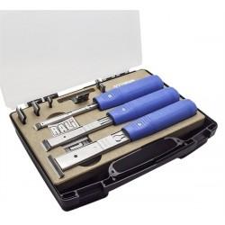 Valise avec 3 ciseaux à bois RALI® SHARK S-M-L