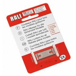 Lames de rechange pour rabot RALI® 105, 220, 260 - acier au chrome
