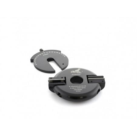Porte-outils multipente à plaquettes