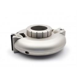 Porte-outils orientable à plaquettes carbure jetables réglage molette mécanique