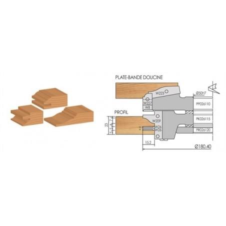 Coffret Porte-outils ébénisterie eric Porte-outils à plaquettes