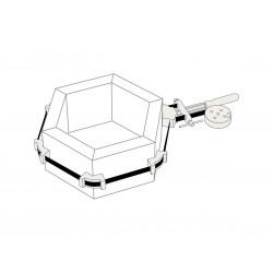 Presse à feuillard Hexagonal
