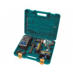 Perceuse/visseuse et percussion à batterie + Scie Circulaire à batterie + Scie Sauteuse à batterie